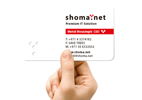 Business Card design in Dubai-UAE